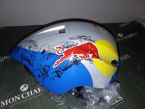 Lot 5117 RED BULL  CYCLE HELMET