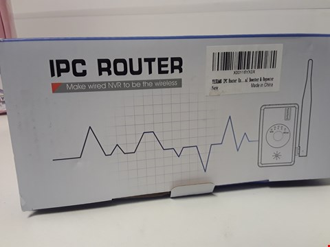 Lot 4572 BOXED YESKAMO IPC CAMERA ROUTER (REPEATER)