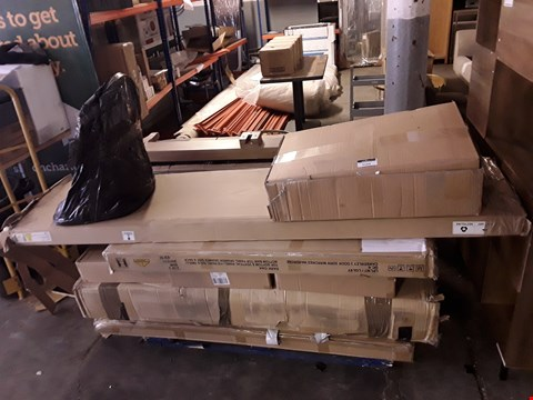 Lot 3160 PALLET OF ASSORTED FLAT PACK FURNITURE PARTS