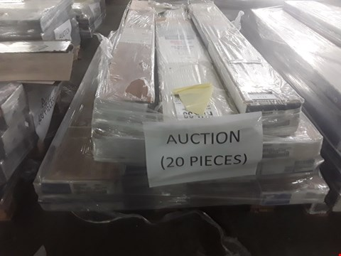 Lot 93 PALLET OF APPROXIMATELY 20 PACKS OF LAMINATE FLOORING