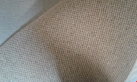 Lot 1003 ROLL OF QUALITY NATURAL COORDINATES CORD SANDCASTLE CARPET APPROXIMATELY 5M × 18M