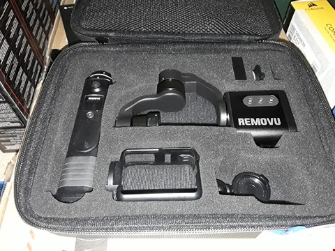 Lot 82 REMOVU S1 SMART GIMBAL STABILIZER FOR GO PRO
