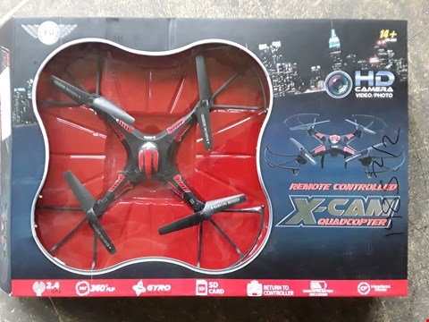 Lot 7420 FLYING GADGETS REMOTE CONTROLLED FLYING QUADCOPTER