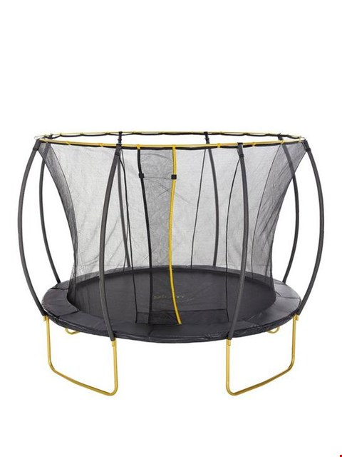 Lot 72 PLUM 10FT GOLD TRAMPOLINE (1 BOX) (BOX 2 OF 2 ONLY)