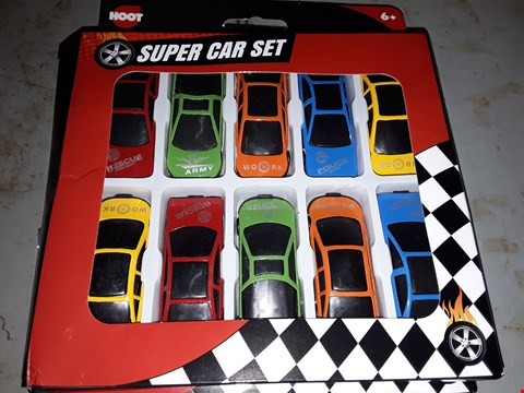 Lot 541 APPROXIMATELY TWO  ) HOOT SUPER CAR SET