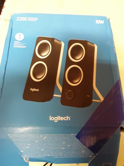 Lot 4944 LOGITECH Z200 10W STEREO SPEAKERS