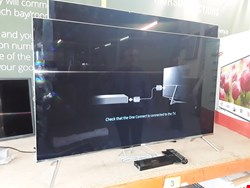 Lot 2014 SAMSUNG SUHD TELEVISION WITH 2 REMOTES AND STAND MODEL- UE49457000