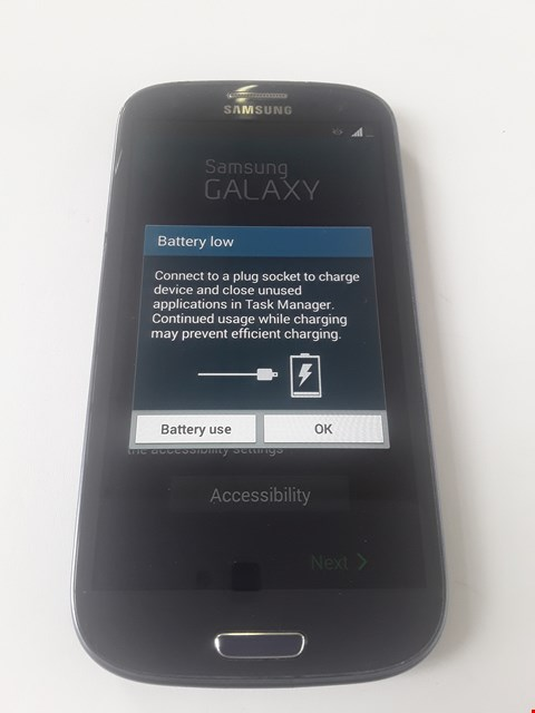 Lot 91 SAMSUNG GALAXY S3 I9300 MOBILE PHONE