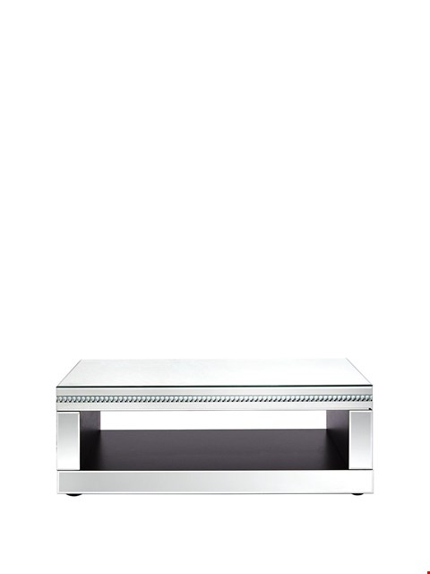 Lot 5111 BOXED ORION MIRRORED COFFEE TABLE