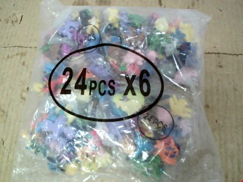 Lot 10686 LOT OF APPROXIMATELY 20 BAGS OF 288 ASSORTED POKEMON FIGURINES
