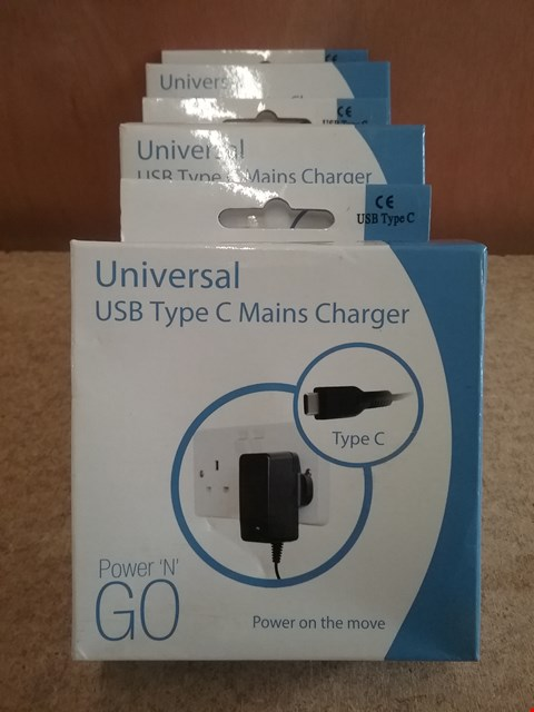Lot 598  3 BRAND NEW BOXED UNIVERSAL USB TYPE MAINS CHARGER