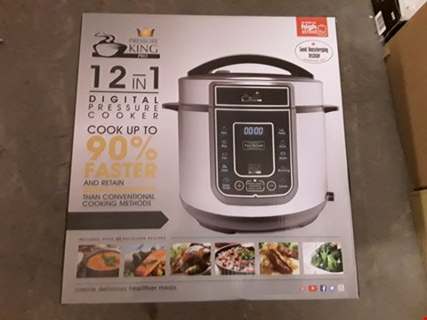 Lot 571 PRESSURE KING SC-40S DIGITAL PRESSURE COOKER