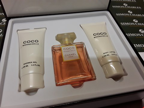 Lot 12002 CHANEL STYLE COCO MADEMOISELLE 3PC GIFT SET