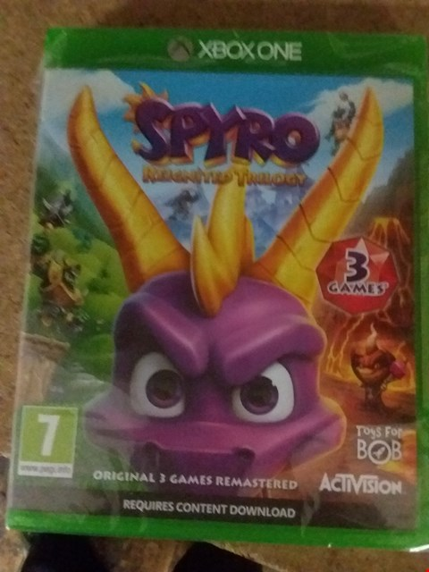 Lot 2568 SPYRO REIGNITED TRILOGY FOR XBOX ONE