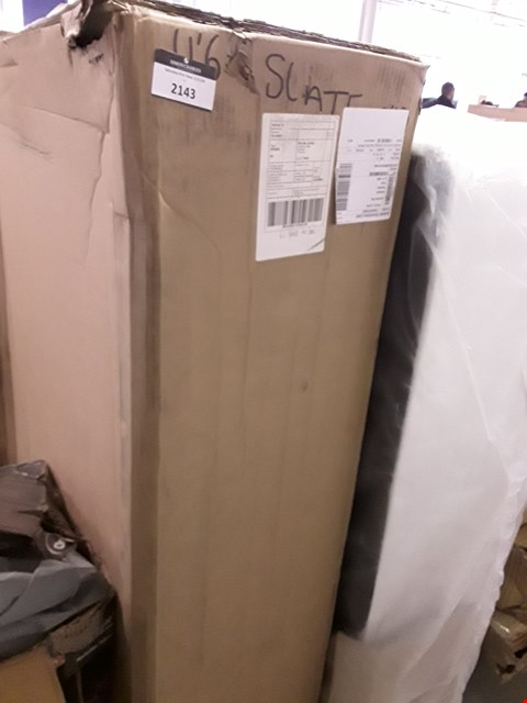 Lot 2097 DESIGNER BOXED FABRIC DIVAN SECTION