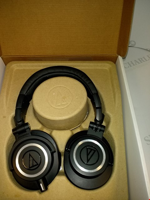 Lot 17530 AUDIO-TECHNICA ATH-M50X HEADPHONES