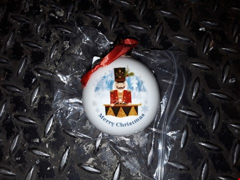 Lot 6198 PERSONALISED THE NUTCRACKER CERAMIC BAUBLE