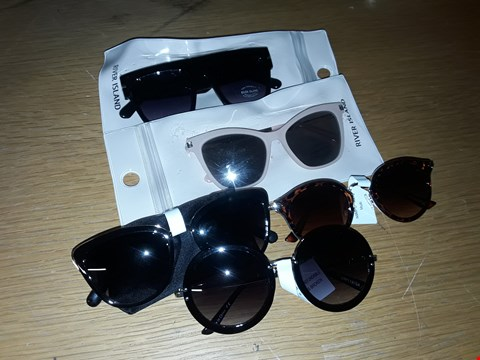 Lot 4192 LOT OF APPROXIMATELY 9 ASSORTED PAIRS OF GLASSES TO INCLUDE RIVER ISLAND AND OVERSIZED BOXY DESIGNS