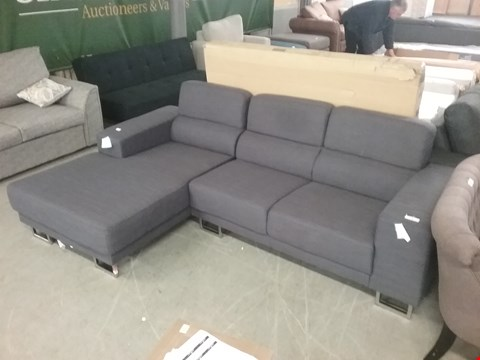 Lot 1 VERONA FABRIC CORNER SOFA  RRP £700