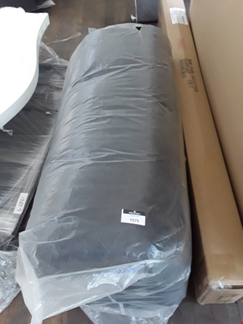Lot 7079 BAGGED BLACK FABRIC FUTON MATTRESS