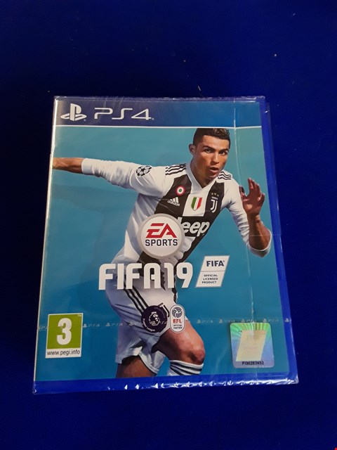 Lot 7616 FIFA 19 PLAYSTATION 4 GAME
