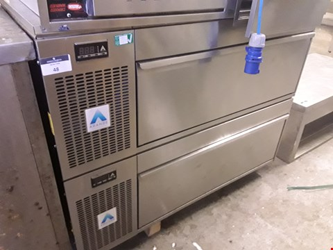 Lot 48 ADANDE COMMERCIAL 2 DRAWER REFRIGERATION UNIT