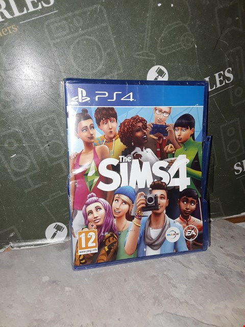 Lot 14517 PLAYSTATION 4 THE SIMS 4 RRP £29.99