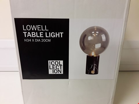 Lot 6115 BOXED LOWELL TABLE LIGHT
