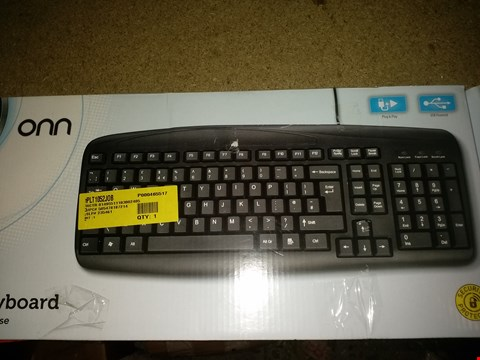 Lot 1160 ONN WIRELESS KEYBOARD