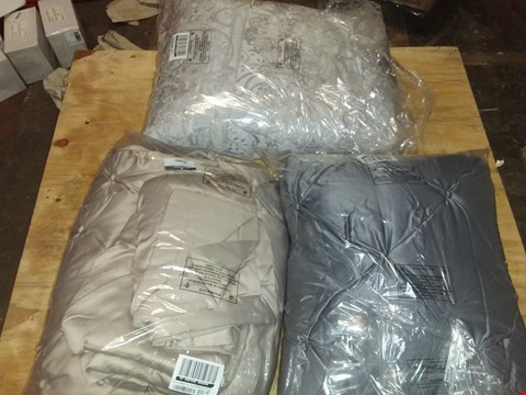 Lot 4485 3 SET OF BEDSPREADS: CHAMPAGNE, SILVER AND LIGHT SILVER