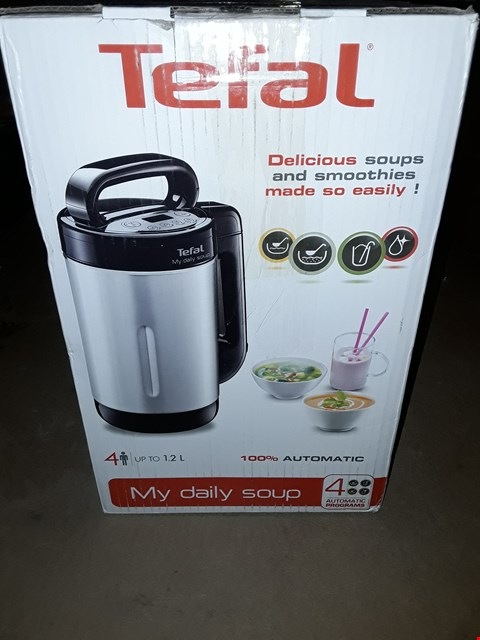 Lot 377 TEFAL MY DAILY SOUP AND SMOOTHIE MAKER