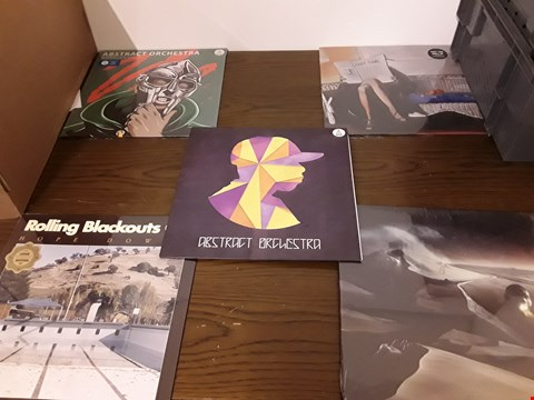 Lot 1029 LOT OF 10 ASSORTED VINYL RECORDS TO INCLUDE; ABSTRACT ORCHESTRA, PART TIME, ROLLING BLACKOUTS C.F. ETC