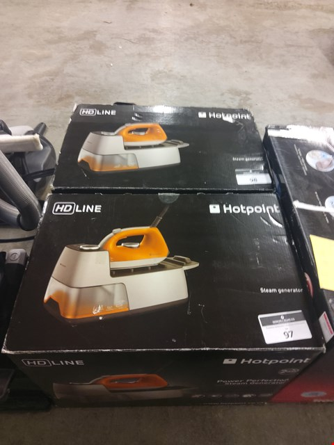 Lot 9003 BOXED HOTPOINT IRON