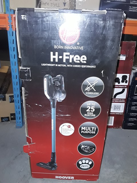 Lot 10037 HOOVER H-FREE 2IN1 LIGHTWEIGHT PETS CORDLESS STICK VACUUM CLEANER, HF18CPT