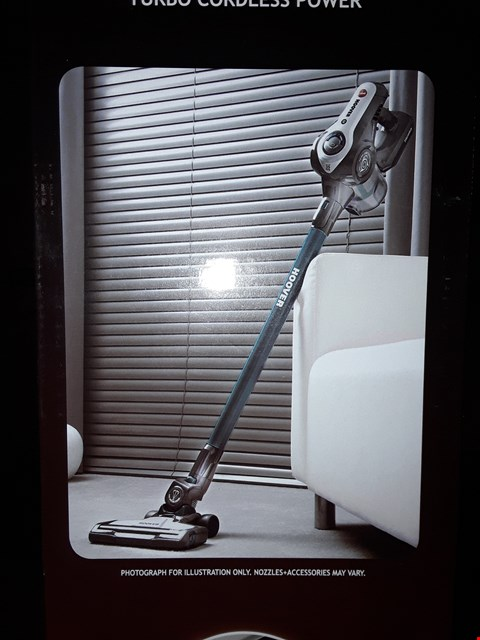 Lot 14179 BOXED HOOVER DISCOVERY CORDLESS VACUUM CLEANER
