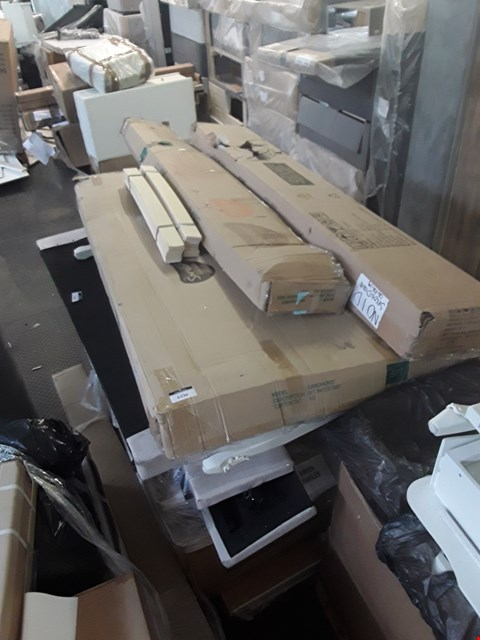 Lot 358 PALLET OF ASSORTED FLAT PACK FURNITURE/PARTS