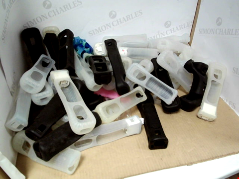 Lot 6196 BOX OF ASSORTED WII SILICONE CASES