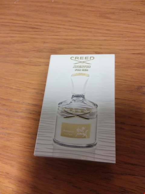 Lot 49 BOXED CREED AVENTUS FOR HER MAISON FONDE A LONDRES EN 1760 75ML VAPORISATEUR SPRAY