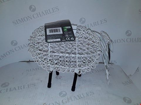 Lot 9103 SOLAR SILHOUETTE DOLLY SHEEP RRP £32.99