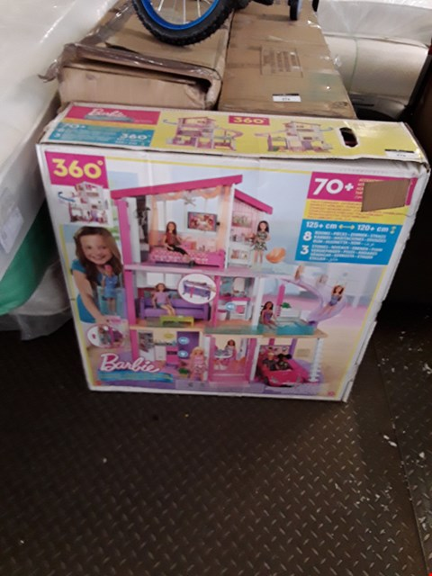Lot 378 BOXED BARBIE 360 DOLLS HOUSE