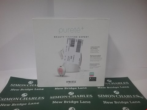 Lot 17153 BOXED HOMEDICS CLEANING AND EXFOLIATING BRUSH