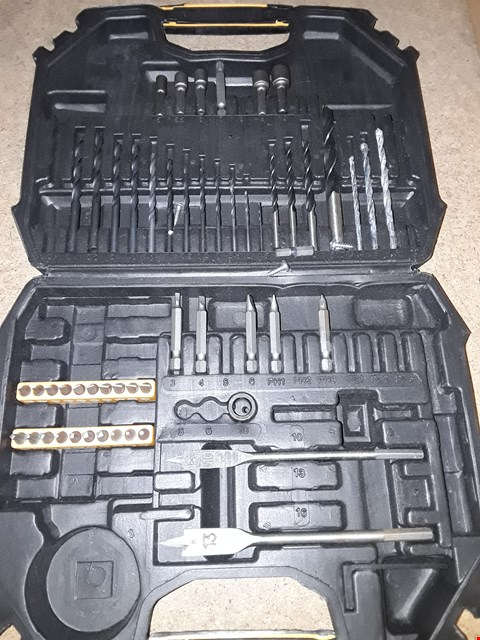 Lot 2004 BOX OF APPROXIMATELY 51 DRILL ACCESSORIES
