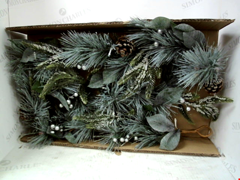 Lot 13068 BOXED LIT CONE GARLAND  RRP £32.99