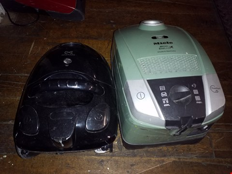 Lot 1004 LOT OF 2 ITEMS TO INCLUDE DC DAEWOO VACUUM CLEANER AND MIELE S6240 ECOLINE