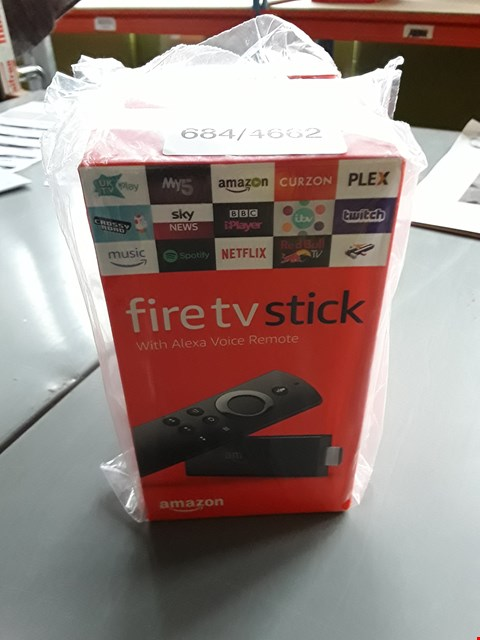 Lot 10339 BOXED AMAZON FIRE TV STICK