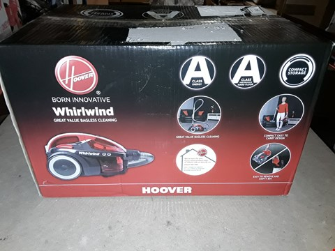 Lot 3547 HOOVER WHIRLWIND BAGLESS VACUUM CLEANER