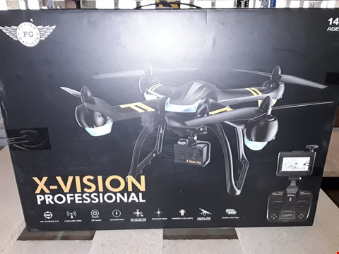 Lot 7595 X-VISION PROFESSIONAL DRONE WITH HD CAMERA