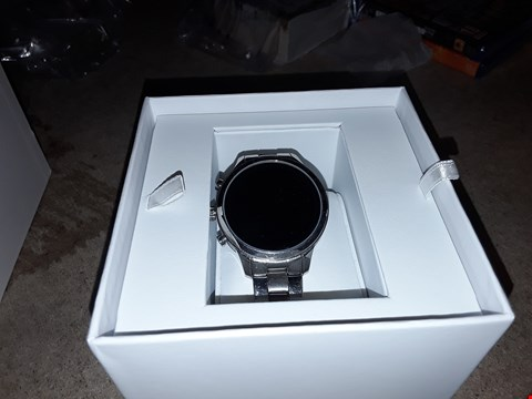 Lot 9231 MICHAEL KORS RUNAWAY DISPLAY SMART WATCH STAINLESS STEEL  RRP £449.00