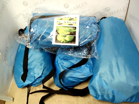 Lot 10237 LOT OF APPROXIMATELY 4 BLUE POP UP TENTS