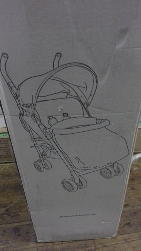 Lot 344 BOXED LADYBIRD STROLLER WITH FOOTMUFF  RRP £120.00